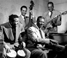 Nat King Cole Quartet, NYC, New York, 1949.  Unforgettable.
