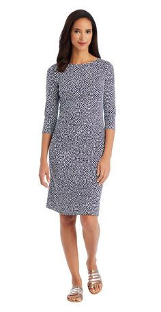 J.McLaughlin - Sage Rouched Dress in Arno