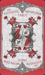 Back Image of Fantastic Menagerie Tarot 1