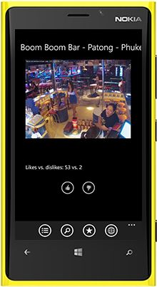 Download World Live Cams and watch 5,000 street public webcams on your Windows Phone smartphones and tablets: http://windowsphone.com/s?appId=8ee46d64-cb03-4cd4-9989-be27e03e063c