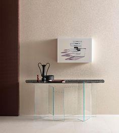 Fantastisch #Möbel Möbel Aus Glas Und Keramik Der Serie Metropolis Präsentieren Eine  Mikro Architektur #