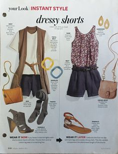 People Style Watch, Dressy Shorts, Fashion Outfits, Fall Fashion, Everyday Fashion, Tights, Vest, Silk, Tank Tops