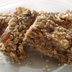 "Rice Cereal Energy Bars | ""Wow! Great recipe. My grandchildren love these, as do I!"""