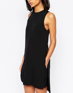 Image 3 of ASOS Minimal Romper with Overlay