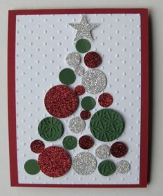 578 best christmas cards 2016 images on pinterest cards christmas potato stamp diy christmas card cut the potato one oblong shape and another tiny heart m4hsunfo