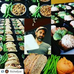#Repost @fitchefjoe with @repostapp  I just want to personally thank all of you who placed orders for next week. Before I opened this meal prep shop I was a personal chef for friends doing mealpreps for them in their homes. If you are ordering through me a trainer or a gym I would like for you to still consider me as your Personal Chef. I am eager to please and your feedback is important to me. I don't hide in the back of the kitchen and my goal is to form relationships with as many of you…