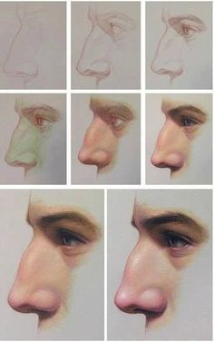 """Bartner titled """"Transcendent Technique"""" includes this step-by-step portrait painting demo on working up from a grisaille. Pencil Art Drawings, Realistic Drawings, Art Drawings Sketches, Animal Drawings, Digital Painting Tutorials, Digital Art Tutorial, Art Tutorials, Arte Com Grey's Anatomy, Anatomy Art"""