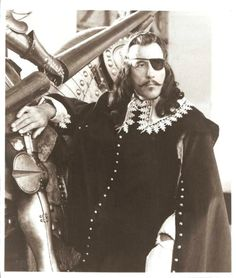Christopher Lee in The Three Musketeers
