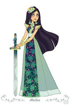 Mulan - Lee Ann Dufour
