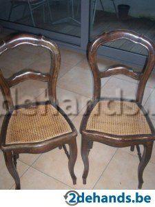 3 Antieke stoelen