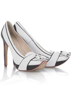 Celine|Platform leather shoes