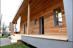 On December 4, 2012, the Empowerhouse team, along with partners and community members, completed the installation of a permanent, two-family home in Washington, D.C.     The home was originally showcased as part of the U.S Department of Energy's Solar Decathlon 2011.