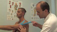 Kinesiology taping - Tejping při nestabilitě ramenního kloubu