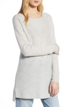 e3bf7f3b660 Free shipping and returns on Halogen® High Low Wool  amp  Cashmere Tunic  Sweater