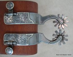 Item 004769 - New Handmade Eddy Mardis Double Mounted Spurs - Must Fish Western Tackle - Picasa Web Albums