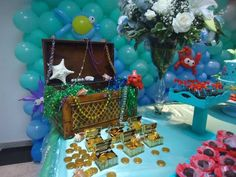 The Little Mermaid Birthday Party Ideas | Photo 5 of 24
