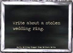 stolen wedding ring