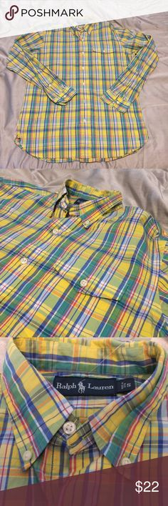 Ralph Lauren Polo Plaid Button Down Shirt A Ralph Lauren Polo Button Down in excellent preowned condition. Great for casual wear! Polo by Ralph Lauren Shirts Casual Button Down Shirts