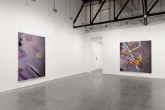 Installation shot of some of Schnabel's work at Andrea Rosen Gallery.COURTESY ANDREA ROSEN GALLERY