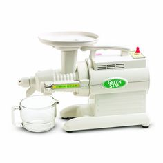 Amazon.com: Tribest Green Star GS-1000 Juice Extractor: Electric Masticating Juicers: Kitchen & Dining