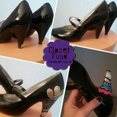 DIY project: 1920s inspired shoes by Lucebuona