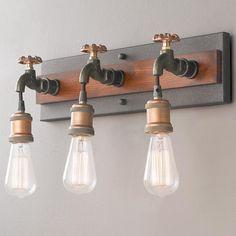 Dripping Faucet Bath Light - 3 Light