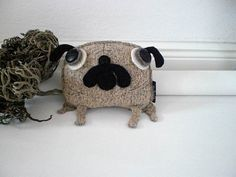 lovely pug ''Classic/small by maldimaglia on Etsy, $25.50