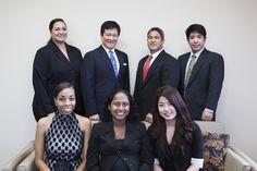 Our new office family shot.  Standing, L-R:  Larie Manutai, Gavin Doi, Kendal Luke, Derek Kamiya.  Sitting, L-R:  Victoria Tunstall, Sachini Guruluwana, Erina Yatsu