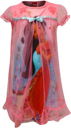 WebUndies.com Disney Elena Of Avalor Music In The Air Nightgown Best Pajamas e826dbe6b