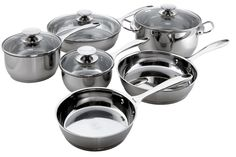 Berndes Cucinare Stainless Induction 10-Piece Cookware Set *** Read more reviews of the product by visiting the link on the image.