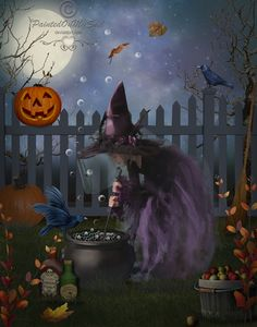 Halloween brujita