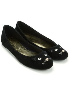 Cheaper Version of the Charlotte Olympia Kitty Flats  Accessorize Tomasina Cat  Flats. Alex · Flat Shoes ... 15fe27b65055