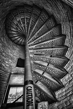 Lighthouse Stairs by Tom Polous