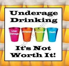 1000 images about Underage Drinking on Pinterest Drinking Alcohol