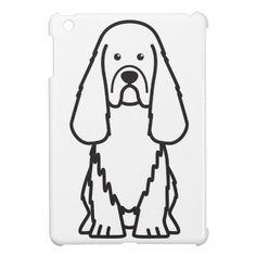 Sussex Spaniel Dog Cartoon iPad Mini Cases