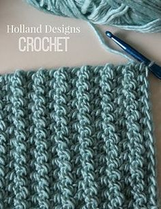 "This pattern introduces a new stitch technique called ""cast on half triple crochet."" It is really easy to work and the pattern includes detailed close-up stitch photos to help you master the stitch. Includes alternate option of working the same stitch in back loops only to create a plush ribbed fabric. (3rd photo)"