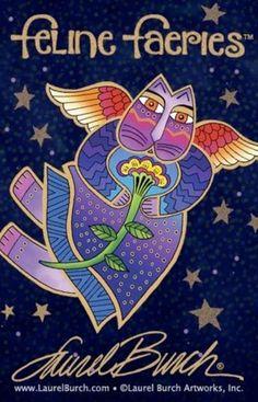 *+*Mystickal Faerie Folke*+*...Feline Faeries by Artist Laurel Burch...