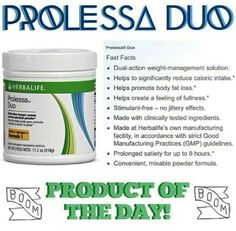 Prolessa Duo burns that stubborn belly fat! Order yours today! http://www.goherbalife.com/herbaval