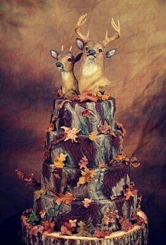 AMAZING!!! Country wedding cake :)