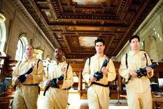 Who You Gonna Call? Ghostbusters visit the New York Library | Improv Everywhere
