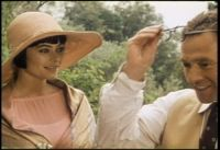 Polly Walker as Lady Caroline Dester in Enchanted April. Great 20s clothing hats, and hair in this movie!