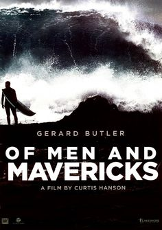 The first poster from the surfer film Chasing Mavericks (previously titled Of Men and Mavericks) has landed online.  Directed by Curtis Hanson, the film stars Gerard Butler as mentor to Moriarty (played by newcomer Jonny Weston), a soul surfer who made his name on the waves over Mavericks in Northern California.  Opens wide October 26th.