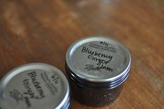 Blueberry Ginger Jam - because it just looks yummy. :)  And because I still have 1 1/2 gallons of blueberries in my freezer. :)