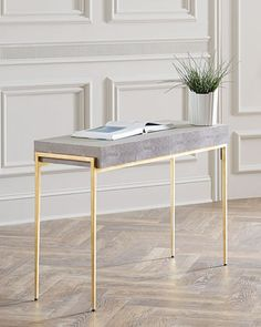 Maude+Console+by+Interlude+Home+at+Neiman+Marcus.