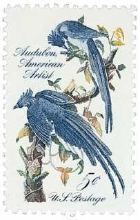 #1241 - 1963 5c John James Audubon U. S. Postage Stamp Plate Block (4) . $0.15