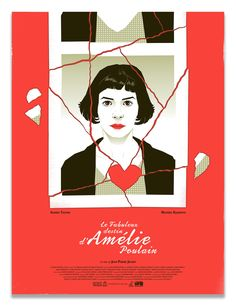 "Artist: Guillaume MorellecTitle: ""Le Fabuleux Destin d'Amélie Poulain""Medium: Screen PrintDimensions: x Custom framing options include:A hand cut and joined wooden white or black frame. Amelie, San Fransisco, Minimal Movie Posters, Film Posters, Cinema Posters, Movie Synopsis, Spoke Art, Art Gallery, Paris Girl"