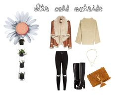 """""""Its cold outside"""" by anne-nocito on Polyvore featuring moda, Mason by Michelle Mason, Burberry, Kate Spade, The Row y Yves Saint Laurent"""