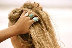 I loved the rings...