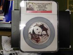2012 ANA World's Fair of Money 5 oz Silver China Panda NGC  PR69 Ultra Cameo