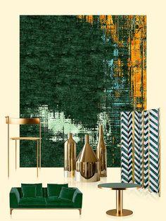 Tour d'horizon des plus beaux tapis aperçus cette année au Salon de Milan.